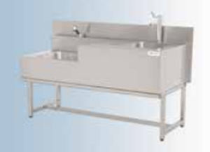 mortuary washing unit