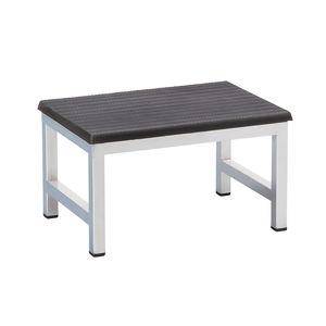 1-step step stool / stainless steel
