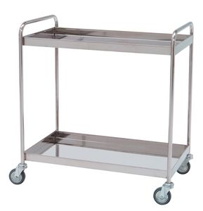cleaning trolley / meal / 1-tray