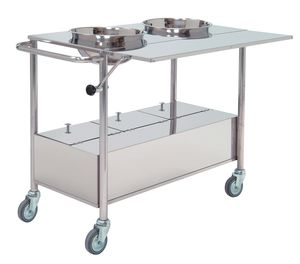 cast trolley / transport / 1 to 14 containers
