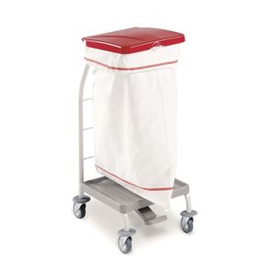 transport trolley / dirty linen / 1-bag