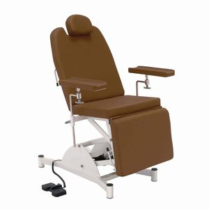 electric blood donor chair / 3-section / height-adjustable