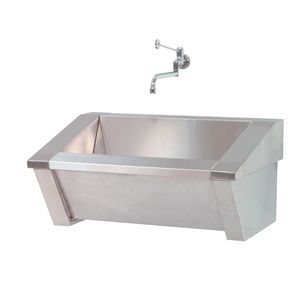 1-station surgical sink / stainless steel
