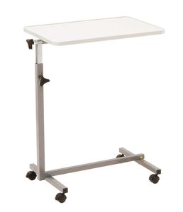 manually operated overbed table