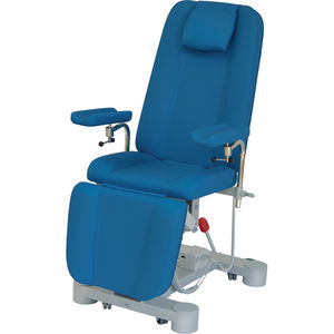 electric blood donor chair / 3 sections / height-adjustable