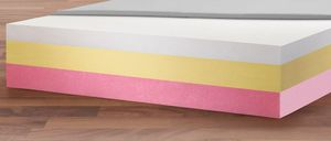 hospital bed mattress / foam / anti-decubitus / bariatric