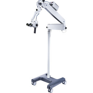 ENT examination microscope / on casters