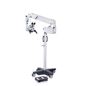 ENT surgery microscope / on casters