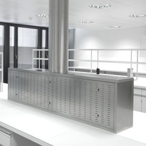 laboratory fume hood / for the pharmaceutical industry / for clean rooms / medical
