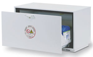 security cabinet / for flammable liquids / for hazardous materials / laboratory