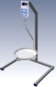 digital autopsy weighing scales / with digital display / hanging