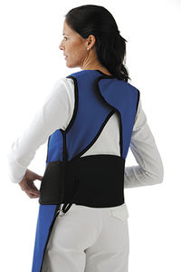 X-ray protective apron belt