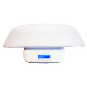 electronic veterinary weighing scales / for small animals / with digital display / platform