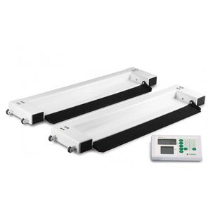 electronic bed scales / with digital display / platform / portable