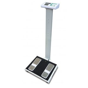 bio-impedancemetry body composition analyzers / with digital display / column type / with BMI calculation