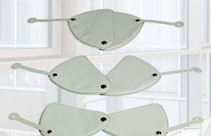 X-ray protective ovary shield