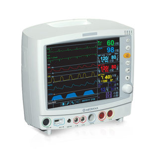 multi-parameter etCO2 monitor / SpO2 / NIBP / ECG