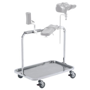 transport trolley / operating table accessory / 1-tray / medical