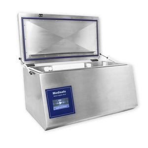 medical flusher-disinfector / top-loading