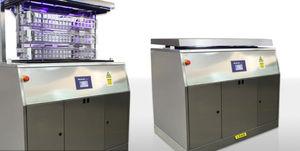 top-loading flusher-disinfector / medical