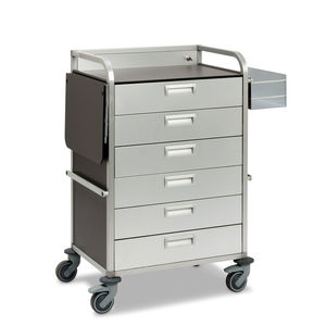 multi-function trolley / storage / for general purpose / medicine