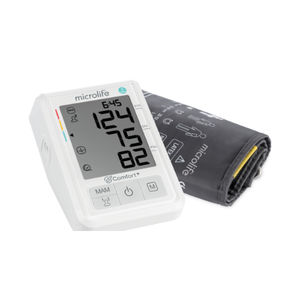 automatic blood pressure monitor / arm / with adult cuff / USB