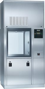 floor-standing washer-disinfector / front-loading / high-capacity