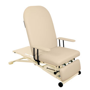 general examination chair / electric / height-adjustable / with adjustable backrest
