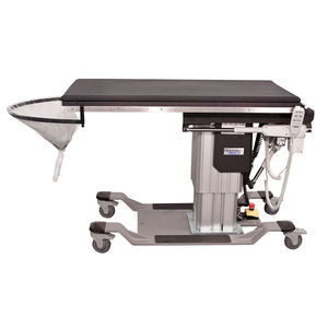 urological examination table / electric / height-adjustable / on casters