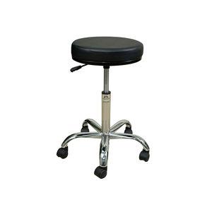 doctor's office stool / height-adjustable / pneumatic / swivel