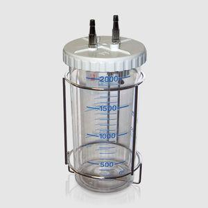 surgical suction pump jar / polycarbonate