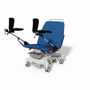 gynecological examination chair / electric / on casters / Trendelenburg