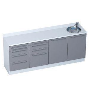 4-drawer cabinet / 5-drawer / modular / 4-module