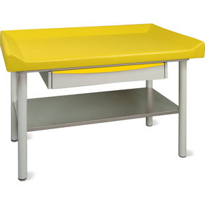 fixed-height examination table / pediatric