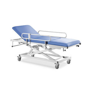 endoscopy examination table / electric / with adjustable backrest / on casters