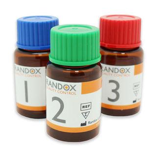 quality control reagent / for coagulation / assayed / lyophilized