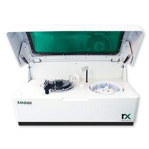 automated biochemistry analyzer / veterinary / benchtop / random access