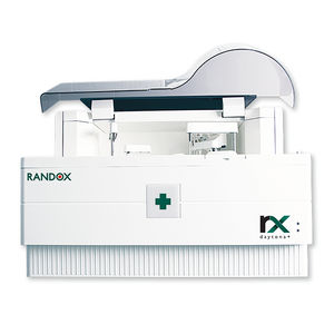 automated biochemistry analyzer / veterinary / compact / random access