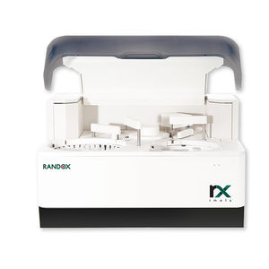 automated biochemistry analyzer / veterinary / benchtop / compact