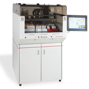 tube decapper laboratory automation system