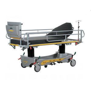 hydraulic stretcher trolley / Trendelenburg / reverse Trendelenburg / height-adjustable