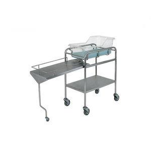 reverse Trendelenburg hospital bassinet