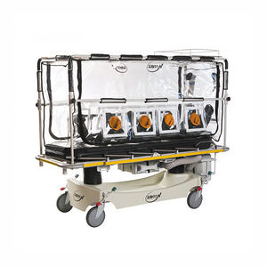 insulation stretcher trolley / transport / electric / height-adjustable