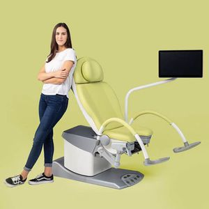 video colposcope / examination chair-mounted