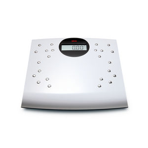 electronic patient weighing scale / with digital display / platform / with BMI calculation