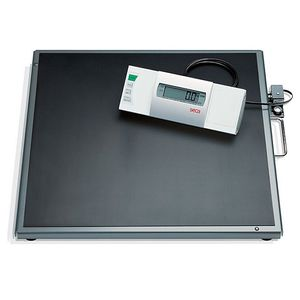 electronic patient weighing scale / multifunctional / with LCD display / with mobile display