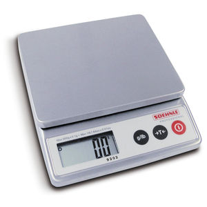 electronic veterinary weighing scales / for small animals / with LCD display / compact