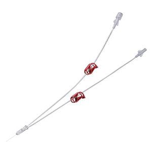 diagnostic catheter / irrigation / gynecological / double-lumen