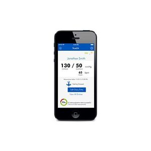 blood pressure monitor iOS application