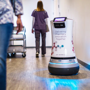 hospital medical telepresence robot